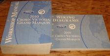 2010 Ford Crown Victoria Mercury Grand Marquis Shop Service Manual + Wiring Set