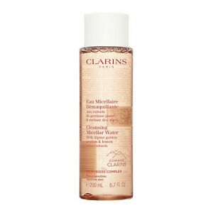 Clarins Cleansing Micellar Water 200ml,6.7oz Microbiote Complex Skin Cleanser