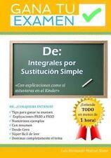Gana Tu Examen: Gana Tu Examen De : Integrales Por Sustitucion Simple: con...