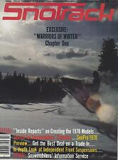 OCT 1977 SNOTRACK snowmobile magazine