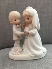 Precious Moments I Give You My Love Forever True Wedding Figurine Enesc1994 Mint