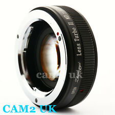 Zhongyi Focal Reducer Lens Turbo II Booster Minolta MD to Sony E Adapter NEX-5T
