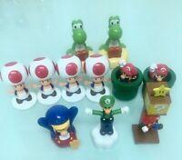 Super Mario Bros Lot 11 Pcs Action Figure Doll Playset Figurine Toy Dolls