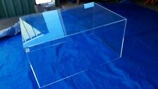 Clear Perspex Case 1250cm L Acrylic Display Case Big Size w.865 height 630cm