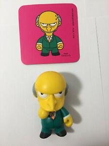 Kidrobot Simpsons Series 1 Mr Burns 2008 - See description