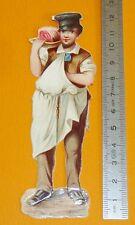 RARE CHROMO 1880-1890 GRAND DECOUPI DIE CUT ARTISAN BOUCHER