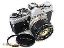 RARE OLYMPUS M-1 35MM SLR CAMERA + OLYMPUS M-SYSTEM 50MM F1.4 LENS - like OM1