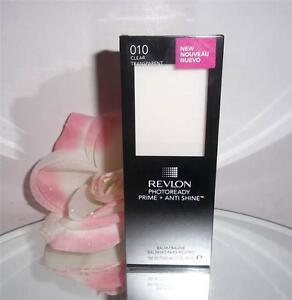 Revlon PhotoReady Prime + Anti Shine Balm Primer 010 Clear Transparent