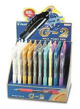 Pilot G-2 Gelschreiber Pastell-Farben BL-G2-7
