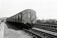 London Underground F Stock Neasden Depot May 1963 Rail Photo