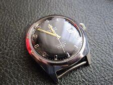 Tissot Visodate T. 12 Seastar Automatic VIntage Black dial Working Wristwatch