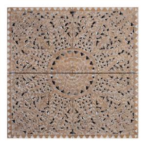 Wall Art- Sierra Carved Wood Panel