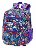 "Top Trenz Inc Scented 5 Zipper Backpacks (Patch V2 BP), 13""W x 18"" H"