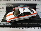 OPE117 voiture 1/43 IXO eagle moss OPEL collection : OMEGA police suisse
