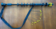 24� Tactical Weapon Blow Gun Hunting Dart 15Pcs .40 Caliber Shooting Target Hunt