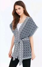 Quilted Seed Stitch Textured Wrap Tie Kimono Jacket Urban Outfitters Ecote $89