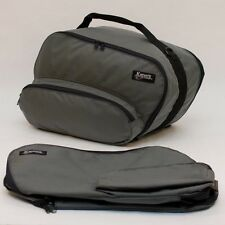 KJD LIFETIME inner saddlebag liners for BMW R1150RT, R1150RS, etc. (Gray)