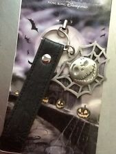 DISNEY HONG KONG NBC JACK SKELLINGTON SPIDER WEB CHARM CELL PHONE STRAP  NOC