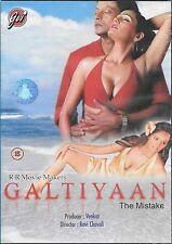galtiyan - suresh chatwal - Nuevo Original Bollywood DVD