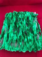 Vintage Wired Chenille Rope Garland Christmas Green Approx. 50'