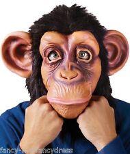 Adulto Uomo Scimmia Scimpanzè Animale Halloween Costume Maschera Accessorio