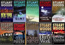 Stuart Woods STONE BARRINGTON Series Collection Set of  Paperback Books 1-10!