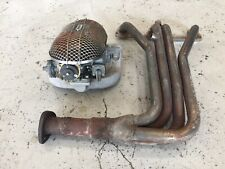 Triumph Spitfire Weber Carburetor Kit, 1300 and 1500 models, used, with manifold