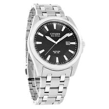 Citizen Eco-Drive Mens Corso Series Sapphire Stainless Steel Watch BM7100-59E