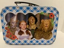 Wizard Of Oz collectible tin tote small lunch box by Vandor Rare And Vintage