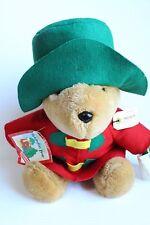 """1997 Holiday/Christmas Paddington Bear with ornament Plush 15"""" made for Sears"""