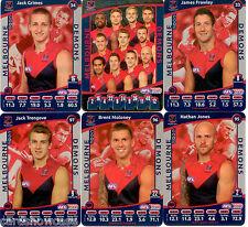 2012 AFL Teamcoach Silver Team set Melbourne (12)