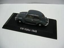 1:43 Norev  - VW Käfer 1948 - Brezelfenster- in grau