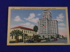 Postcard ~ Post Office & Hotel Westward ~ Phoenix AZ ~ UNUSED