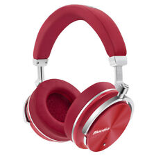 Bluedio T4 Wireless Bluetooth4.2 ANC Headphone Stereo Mic Adjustable Headset Red