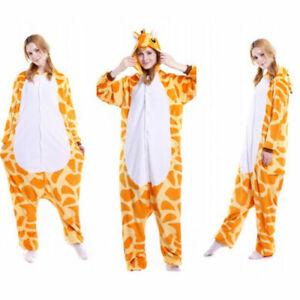 Giraffe Unisex Adult Animal Onsie88Onesie12 Anime Cosplay Pyjama Kigurumi