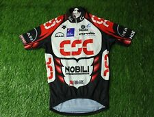 CYCLING SHIRT JERSEY MAGLIA CAMISETA TRIKOT CSC DESCENTE CERVELO SCODA SIZE 3
