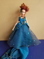 "Effanbee Doll Brenda Starr 1998 toy Tonner evening dress Fashion 16"" green teal"