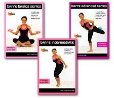 BARRE DVDs - Barlates Body Blitz BARRE BASICS, INTERMEDIATE & ADVANCED 3 DVDs!