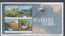 A.A.T 2010 MACQUARIE ISLAND Mini Sheet Stamp Set