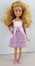 Barbie I Can Be A Bride Wedding Doll From Gift Set Stacie Lavender Purple Dress