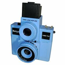 USD - HOLGA 135BC TLR / 135BCTLR Twin Lens Reflex 35mm Film Camera BLUE