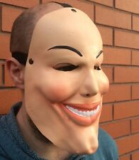 The Purge 1 Movie Costume Horror Fancy Dress Up Mask Cosplay Halloween Pale