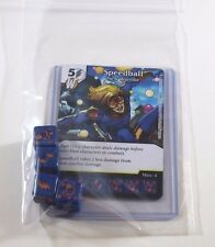 Marvel Dice Masters Civil War * SPEEDBALL * RARE Uncommon Set CUR + 4 dice