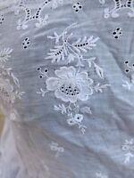 + Ancien Bustier - cache corset - brodé de roses ajouré - 1900 N°5 +