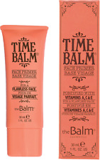 The Balm Time Balm Face Primer Base Foundation #1 Full Size  Fast/Free/Ship!