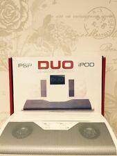 NUOVO TecnoPlus DUO Desktop Stereo Altoparlante Per iPod, PSP, Nano, telefono, IPAD ETC