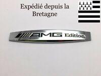 Logo AMG Edition Mercedes métal 3D 10cm X 1,7cm