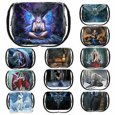 Nemesis Now Messenger Bag 26cm High Tablet Small Laptop Cross Body School Bag