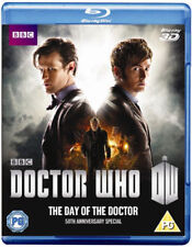Doctor Who - The Day Of The Doctor 3D+2D BLU-Ray NEW BLU-RAY (BBC3DBD0248)