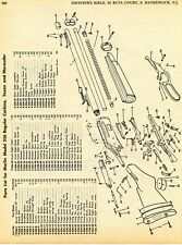 1968 Print Ad Marlin Model 336 Regular Carbine, Texan, Marauder Rifle Parts List